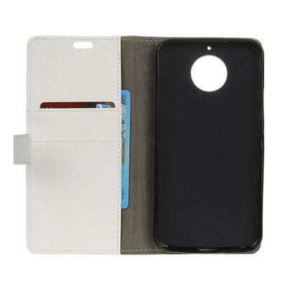 Mobilplånbok 2-kort Motorola Moto E4 Plus (XT1770) Vit