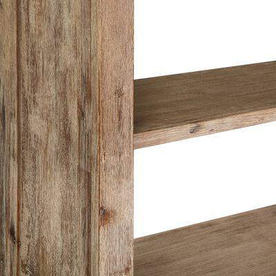 vidaXL Bokhylla 80x30x170 cm massivt akaciaträ