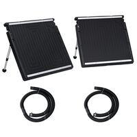 vidaXL Dubbel solpanel för pool 150x75 cm