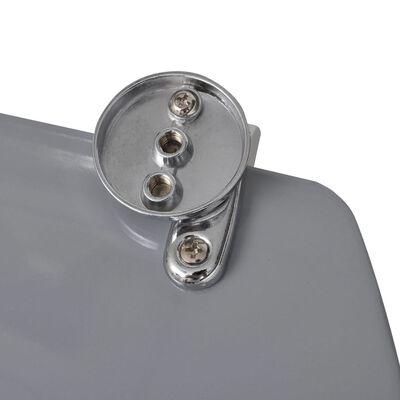 vidaXL Toalettsits MDF lock stenar