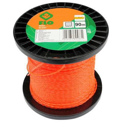 FLO Trimmertråd Silent 2mm 90m orange