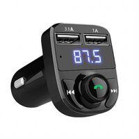Bluetooth bil FM-sändarmodulator MP3 trådlös 3.1A