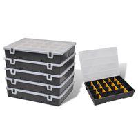 Verktygslåda med 6 lådor