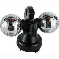 Twin Mirror Ball lamp LED