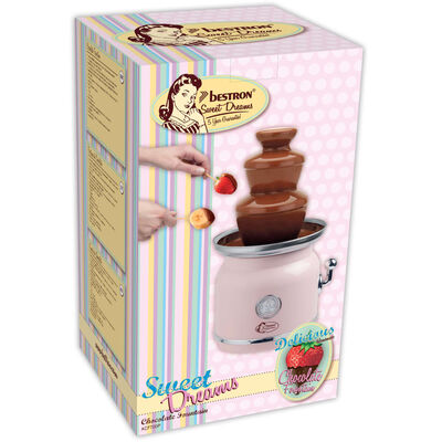 Bestron Chokladfontän ACF700P rosa