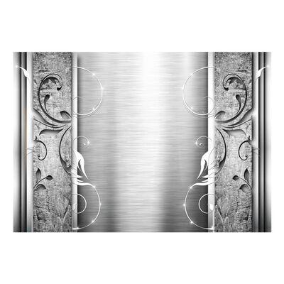 Fototapet - Steel Leaves - 350x245 Cm