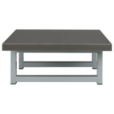 vidaXL Badrumsmöbler 2 delar keramik grå, Grey