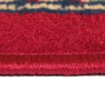 vidaXL Orientalisk matta 140x200 cm röd/beige