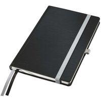 Leitz Style Anteckningsbok A5 rutigt svart