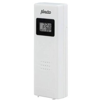 Alecto Trådlös väderstation med 3 sensorer vit WS-1330