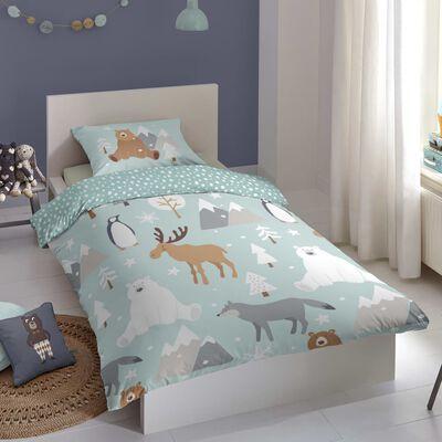 Good Morning Bäddset för barn WINTER 140x200/220 cm flerfärgat