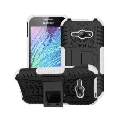 Stöttåligt skal med ställ Samsung Galaxy J1 Ace (SM-J110F) Vit