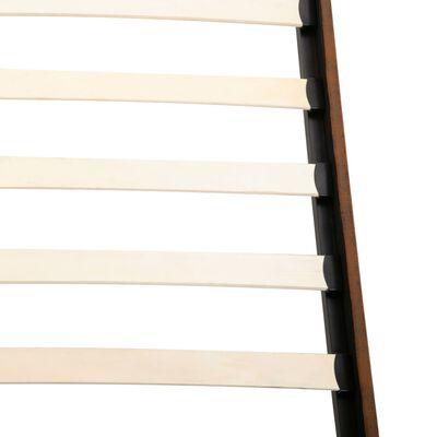 vidaXL Säng med memoryskummadrass konstmocka 140x200 cm