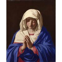 The Virgin in Prayer,Carlo Saraceni,73x58cm