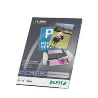Leitz Lamineringsfickor ILAM 250 mikron A3 25-pack