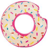 Uppblåsbar Badring, Intex - Rosa Donut