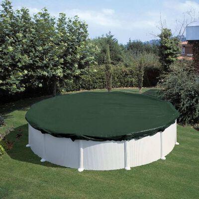 Summer Fun Poolöverdrag för vinter rund 460 cm PVC grön