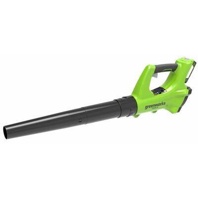 Greenworks Lövblås utan 24 V-batteri G24AB 2402207