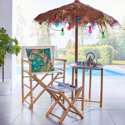 Luxform Partyslinga för trädgård med 10 LED Maui