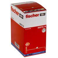Fischer Nylonvikplugg DUOTEC 10 50 st