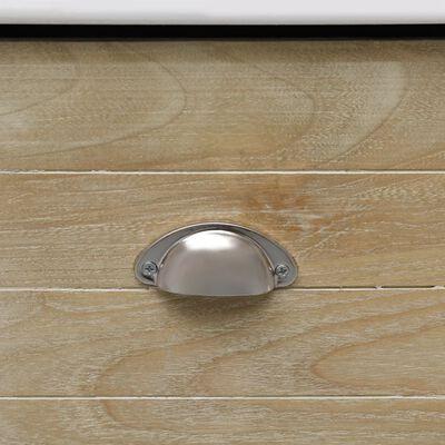 vidaXL Hallbänk 70x35x45 cm paulownia