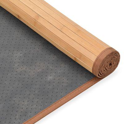 vidaXL Bambumatta 160x230 cm brun