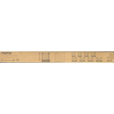 Noma Grindförlängning Easy Pressure Fit 7 cm metall vit 93682