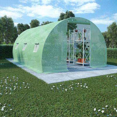 vidaXL Växthus 13,5m² 450x300x200 cm