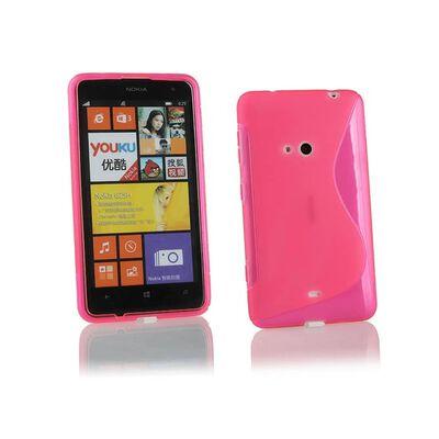S Line silikon skal Nokia Lumia 625 (RM-941) Rosa