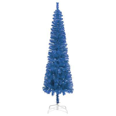 vidaXL Julgran smal blå 240 cm