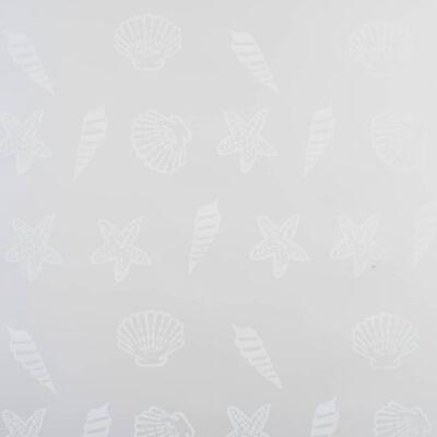 vidaXL Rullgardin för dusch 160x240 cm sjöstjärna ,