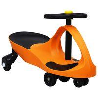 vidaXL Åkbil med tuta orange