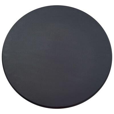 vidaXL Bargrupp 5 delar plast svart