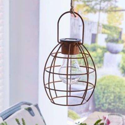 Luxform Solcellslampa för trädgård LED Duisburg