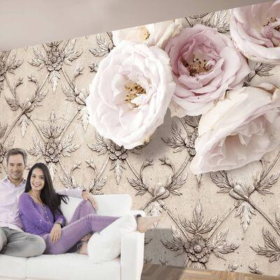 Fototapet - Romantic Beige - 150x105 Cm