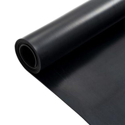 vidaXL Halkfri matta 1,2x2 m 3 mm jämn