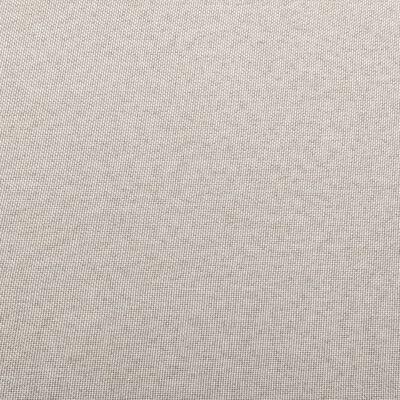 vidaXL Fotpall till modulsoffa med dyna tyg gräddvit