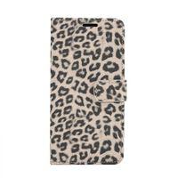 Samsung Galaxy S10+ Plånboksfodral Fodral Leopard - Beige