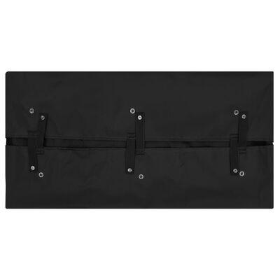 vidaXL Innerfoder till trädgårdsvagn svart 86x46x41 cm tyg