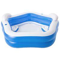 Bestway Pool Family Fun Lounge Pool 213x206x69 cm
