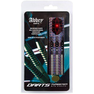 Abbey Darts Dartpilar 3 st 85% volfram 24 g silver