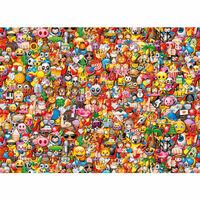 Clementoni Pussel Emoji Impossible 1000 bitar