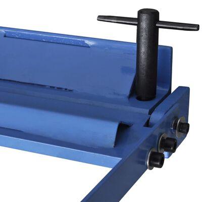 Manuellt styrd falsmaskin för metallplåt 630 mm