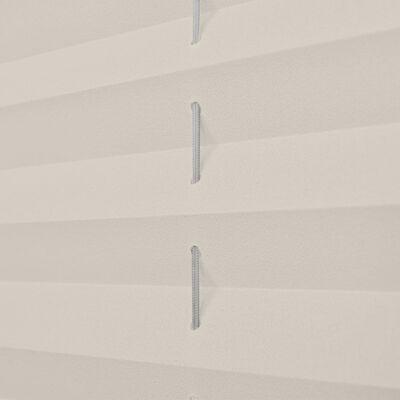 Plisségardin 50x100 cm creme