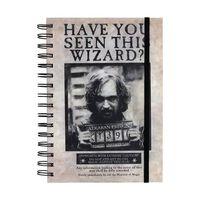 Harry Potter, Anteckningsblock A5 - Sirius Black