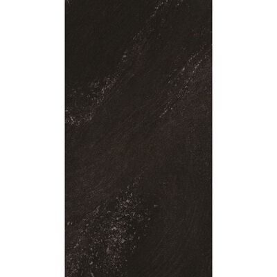Grosfillex Väggplattor Gx Wall+ 11 st sten 30x60cm svart