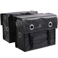 Willex Cykelväskor presenningstyg 52 L matt svart