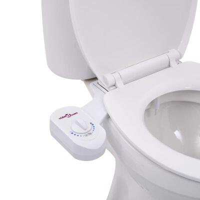 vidaXL Bidétillbehör för toalett ett munstycke