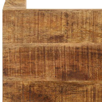 vidaXL Matbord massivt mangoträ 82x80x76 cm