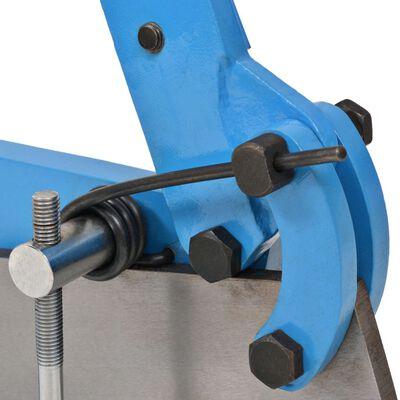 vidaXL Bänkplåtsax 300 mm blå